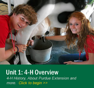 Unit 1: 4-H Overview