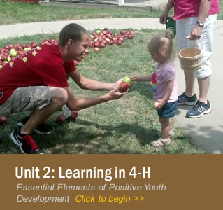 Unit 2: Learning in 4-H