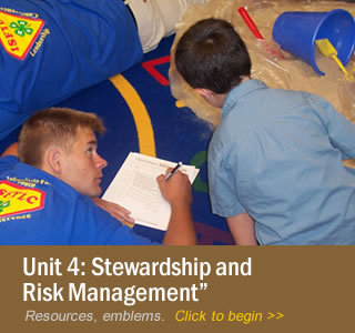Unit 4: Stewardship and Risk Management