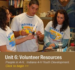 Unit 6: Resources to Support Volunteers