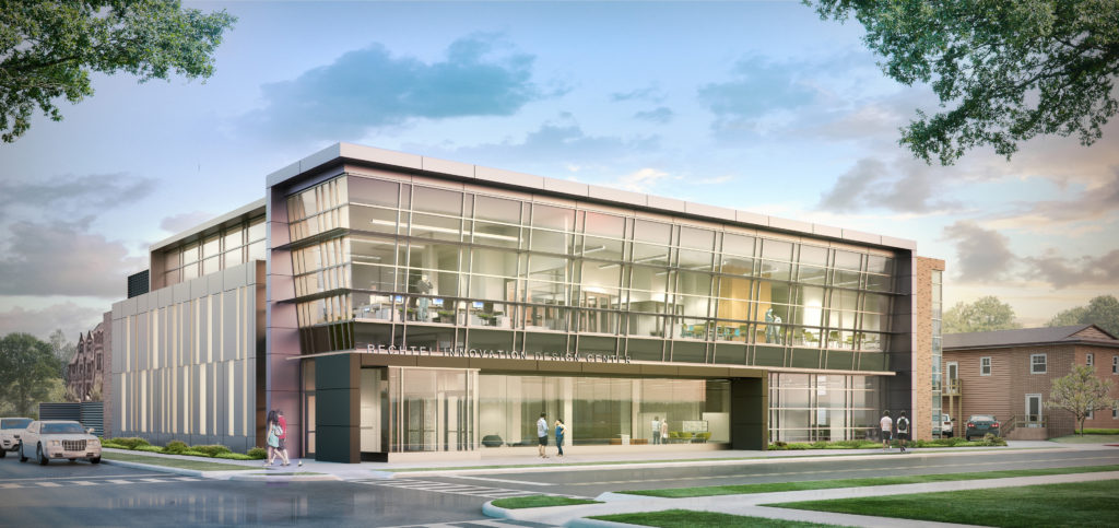 Bechtel Innovation Design Center Rendering