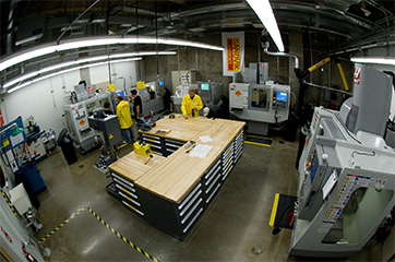 Artisan Fabrication Laboratory CNC Room