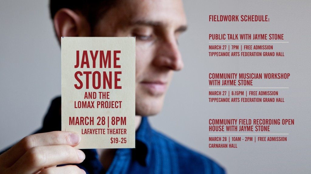 Jayme Stone and The Lomax Project: March 28 | 8 PM | Lafayette Theater