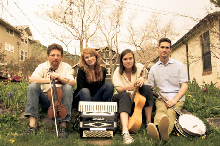 Jayme Stone and The Lomax Project band