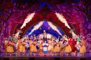 jillian butterfield and the cast of Beauty and the Beast, January 20, Elliott Hall of Music