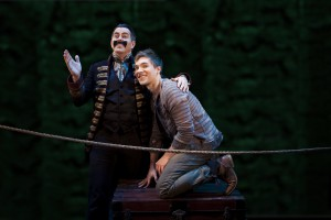 Black Stache and Peter in Peter and the Starcatcher