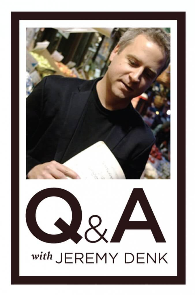 Q&A with Jeremy Denk