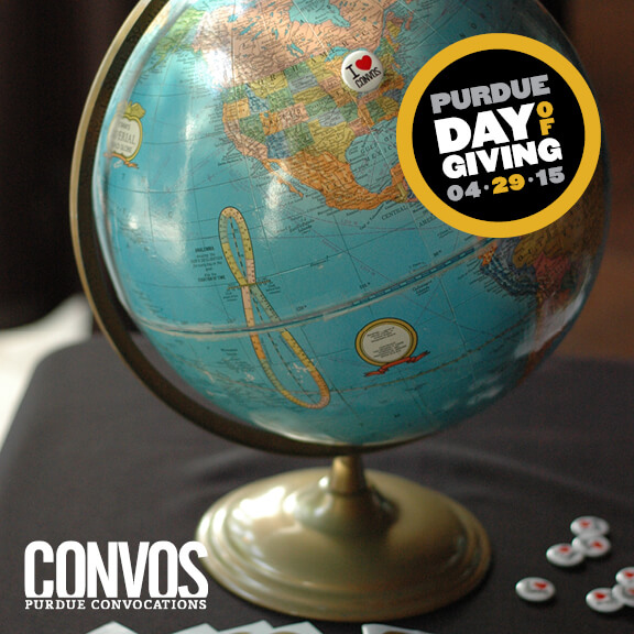 Day of Giving Convos Globe