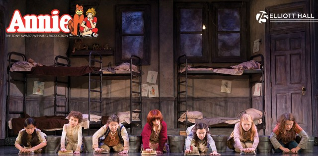 Scene from Annie: The National Tour
