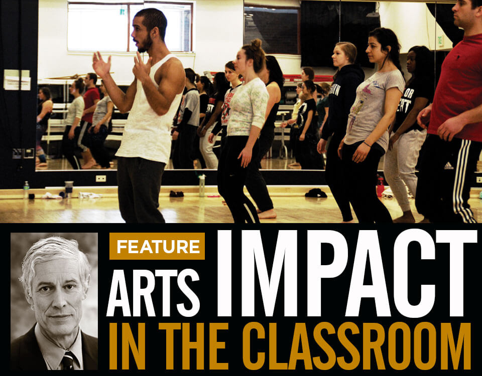 Arts Impact in the Classroom featuring Purdue Dance class