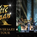 Celtic Woman X: 10th Anniversary Tour logo and stage shot