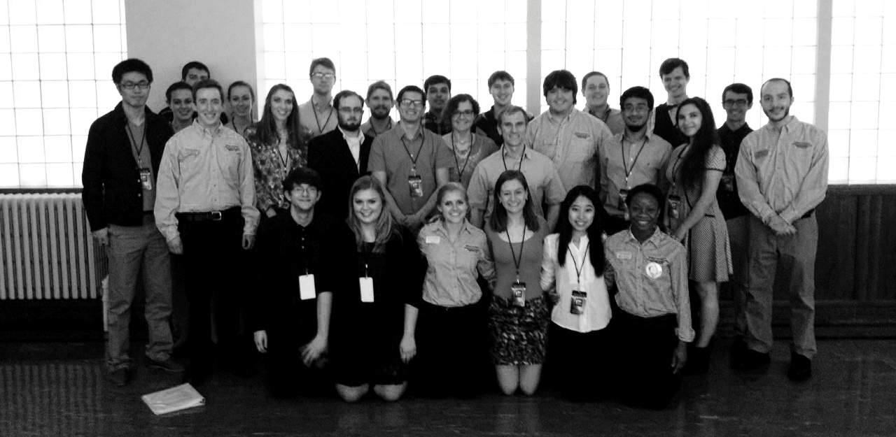 Convocations Voice Network student ushers at The Avett Brothers, 2015