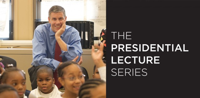 US Secretary of Education Arne Duncan: Purdue Presidential Lecture Series