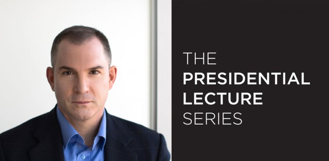 The Presidential Lecture Series: Frank Bruni