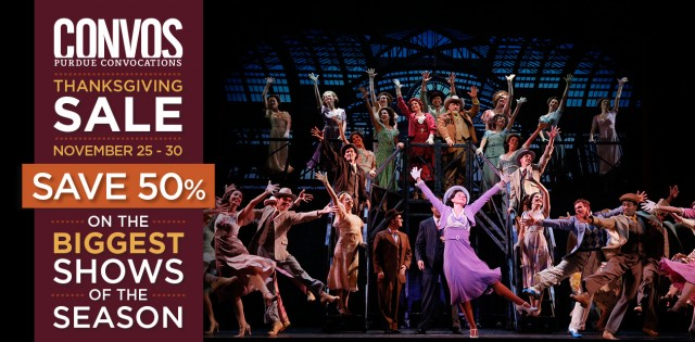 50% off 42nd Street at Purdue