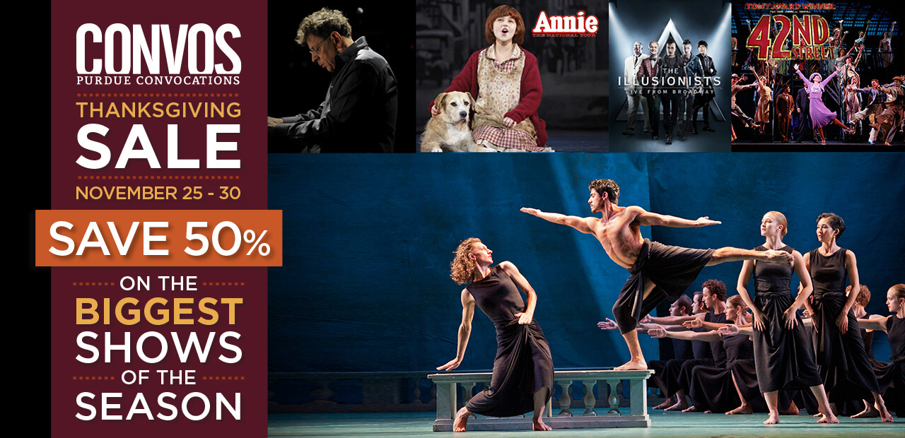 Save 50% off the biggest shows of the season