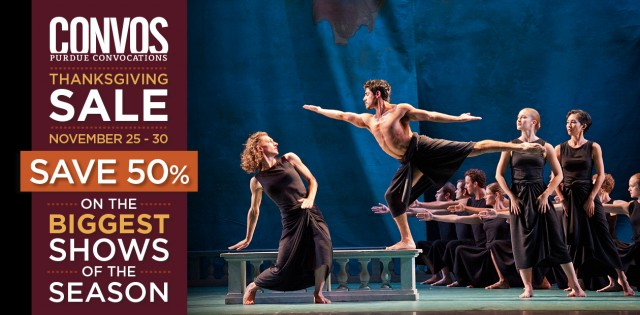 50% off Mark Morris Dance Group at Purdue