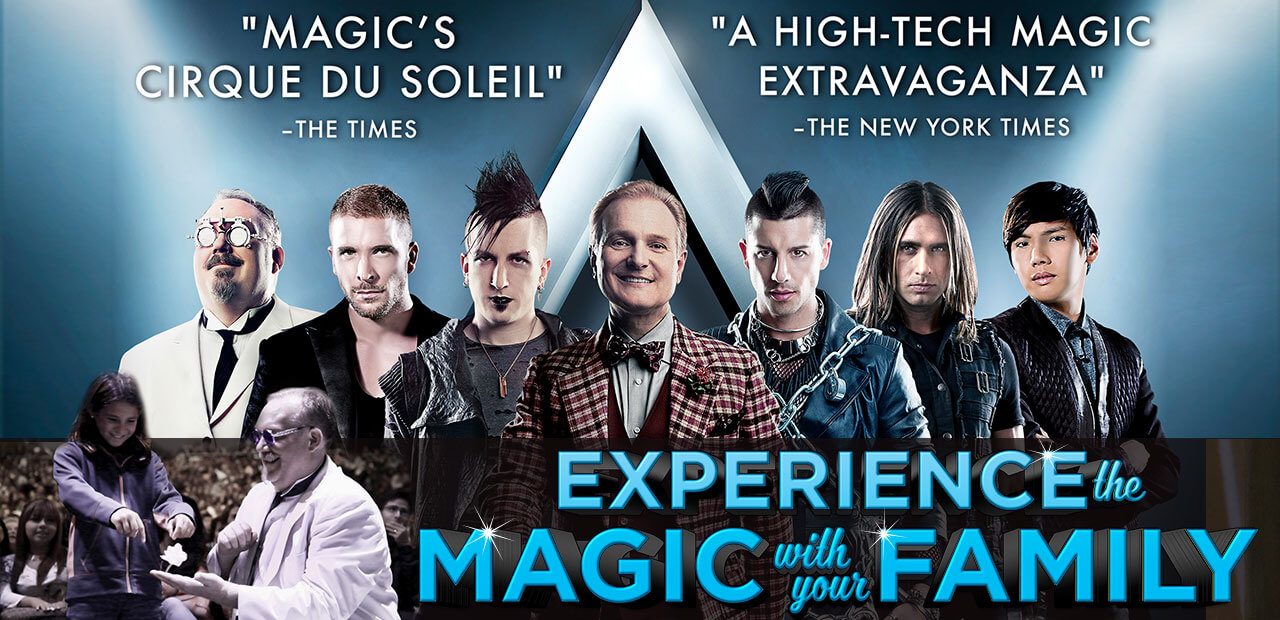 The Illusionists - experience the magic with family