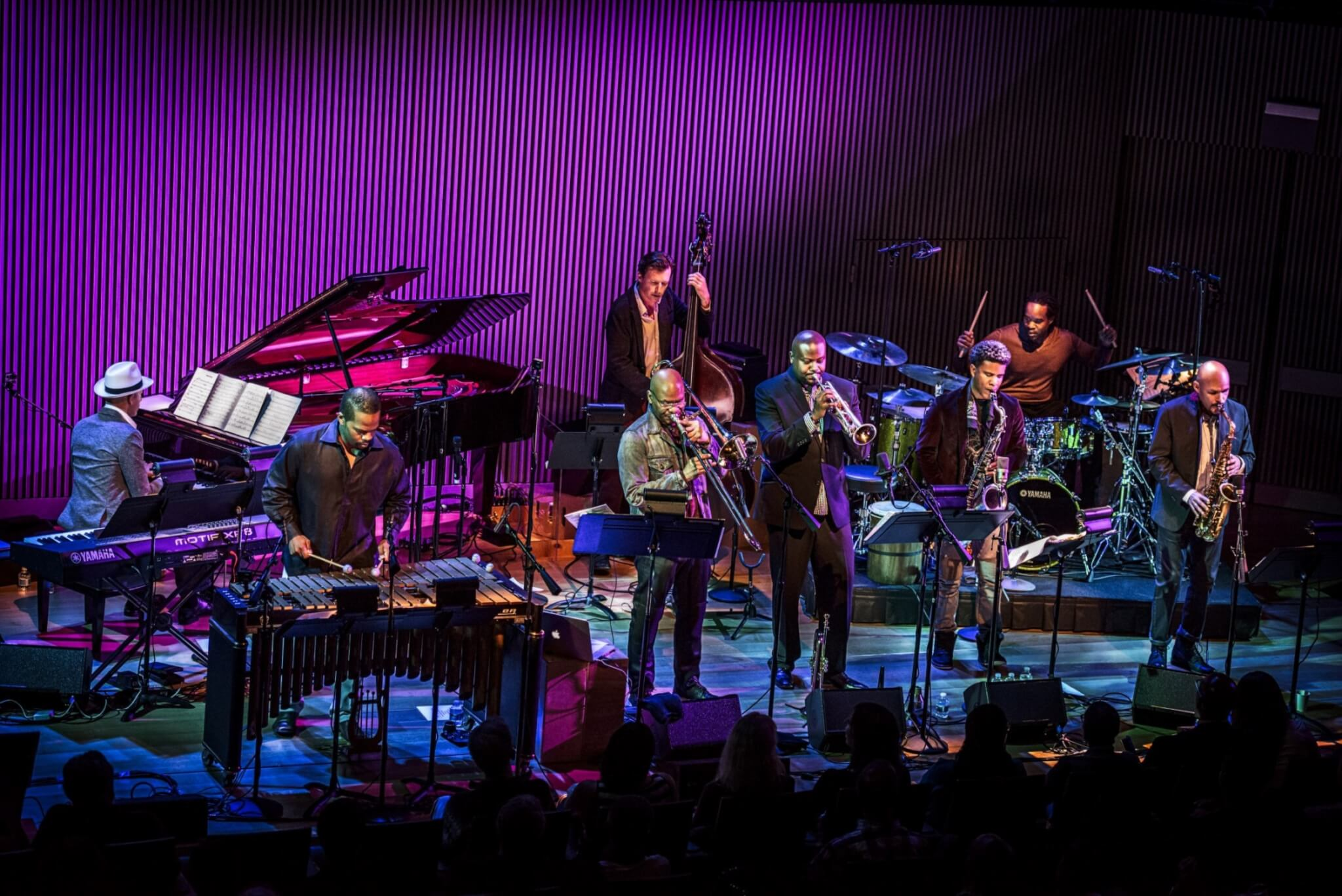 SFJAZZ Collective on stage