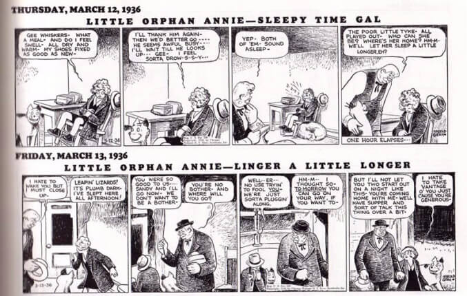 little orphan annie comic