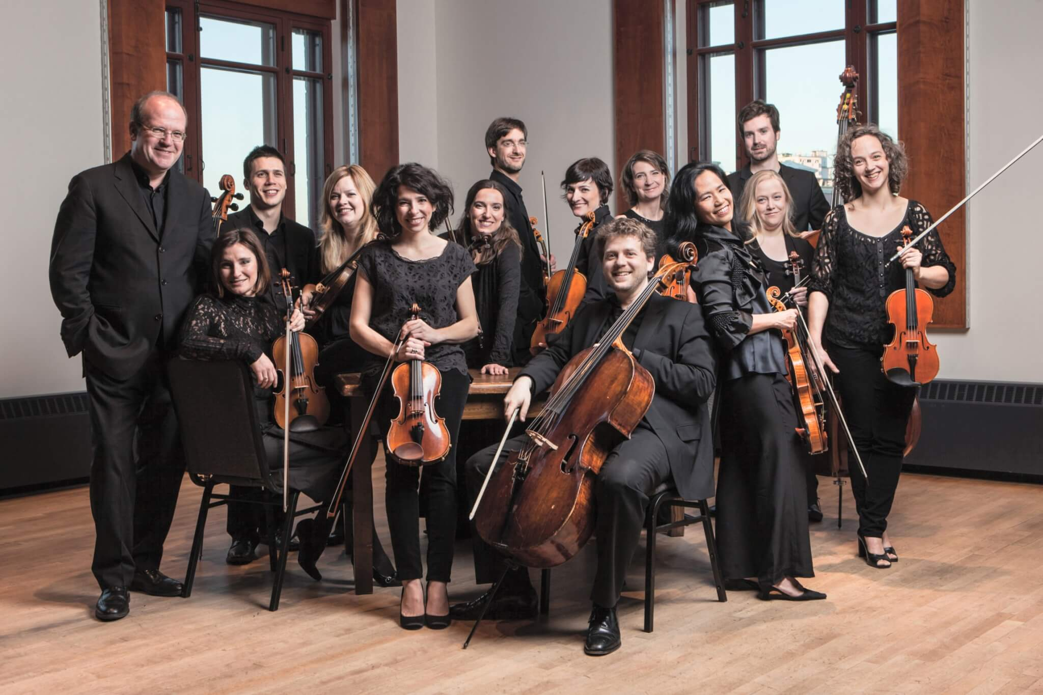 Les Violons du Roy group picture
