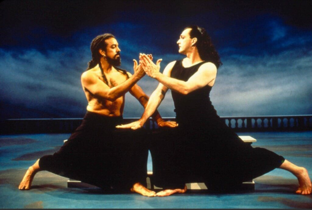Mark Morris in original production of Dido and Aeneas