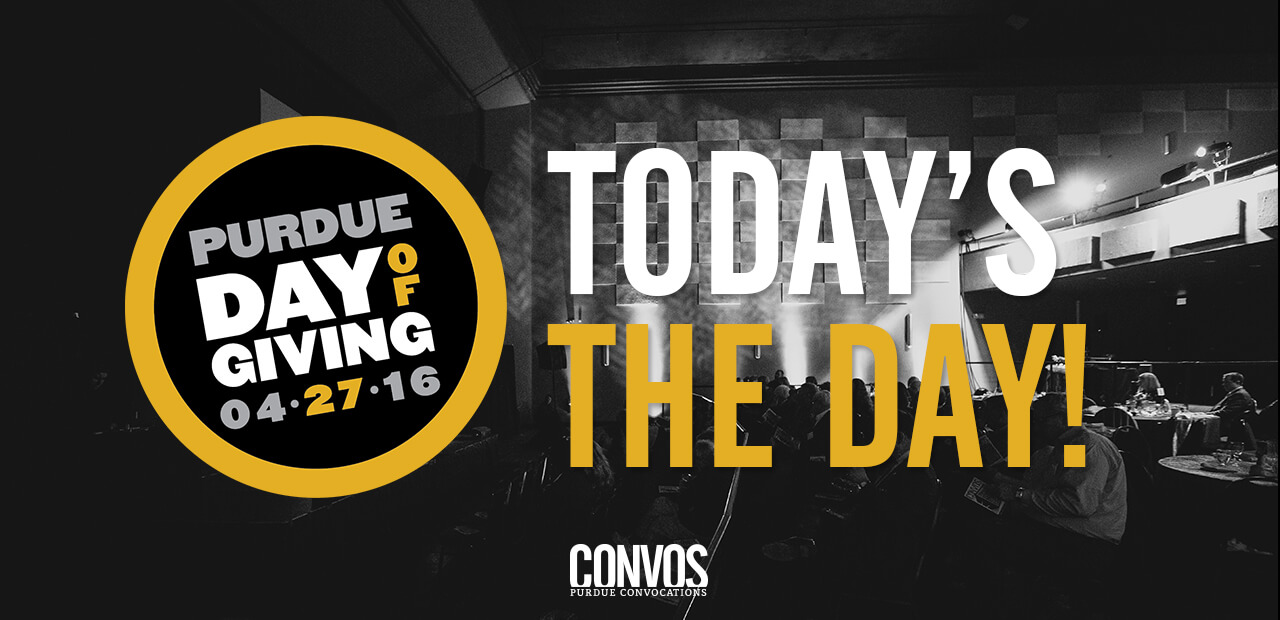 support Purdue Convos on Day of Giving