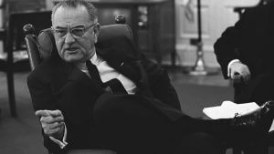 """Lyndon Baines Johnson was the inspiration for The Seldoms: """"Power Goes"""""""
