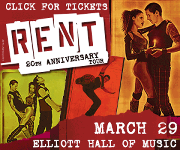 Buy Tickets: RENT / March 29 at Elliott Hall of Music