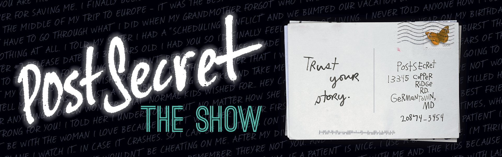 postsecret the show youth series matinee purdue convocations