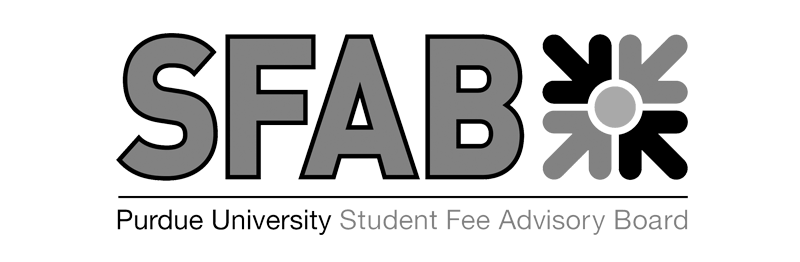 (logo) Purdue Student Fee Advisory Board