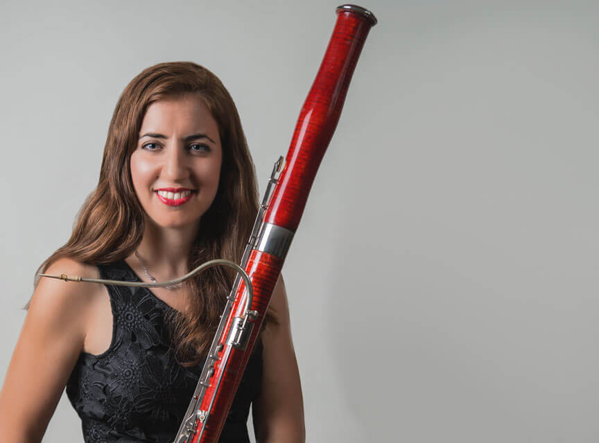 Top 5: Gina Cuffari, bassoonist for Orpheus Chamber Orchestra