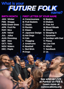 what's your FUTURE FOLK name?