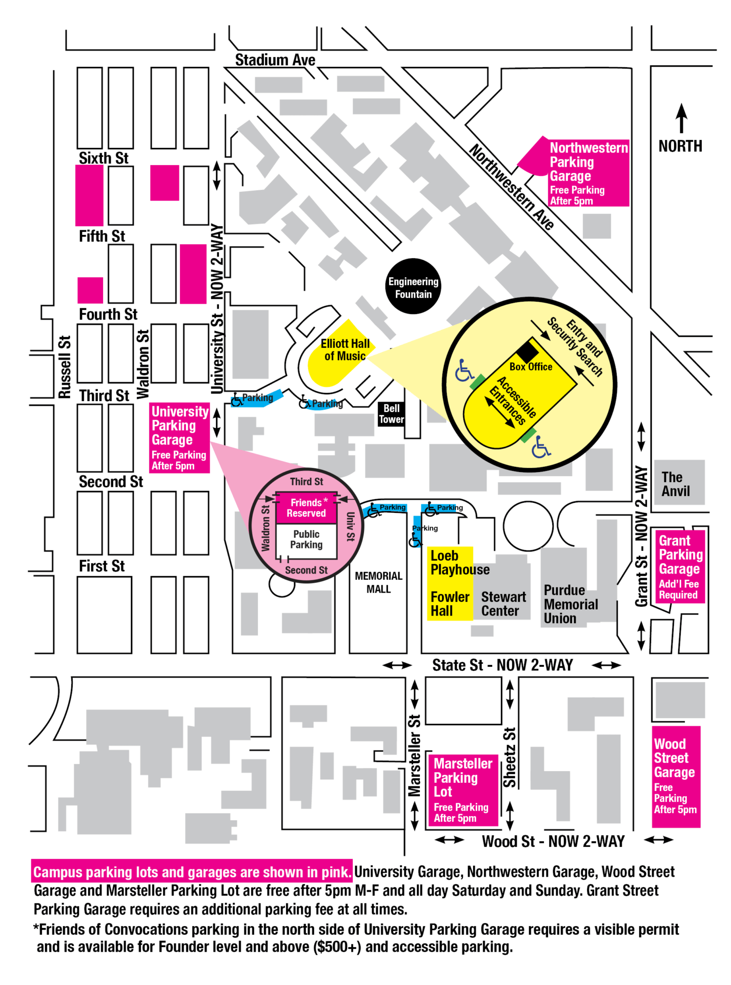parking map purdue