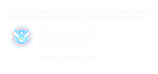 Department of Homeland Security Center of Excellence logo