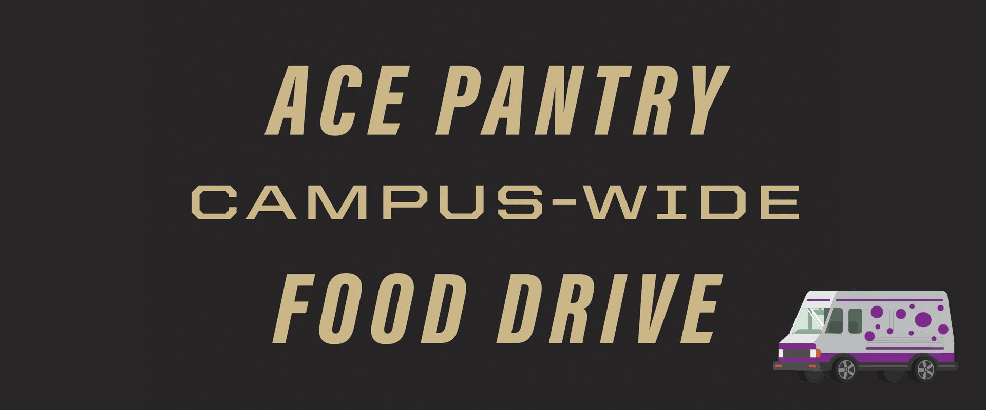 ACE food drive