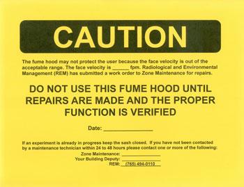 Chemical Fume Hoods - Radiological & Environmental