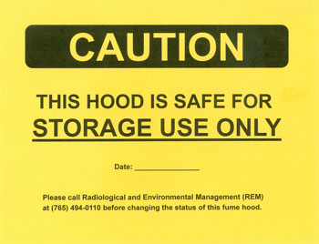 Labels Radiological Amp Environmental Management Purdue