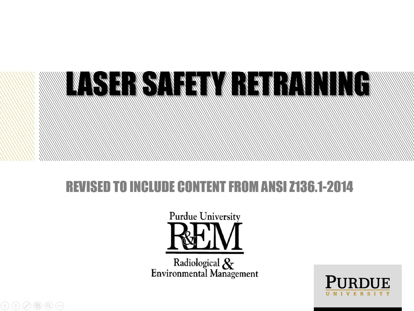 training - Radiological & Environmental Management - Purdue University