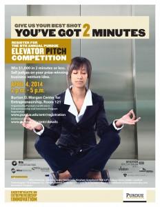 Elevator Pitch Flyer