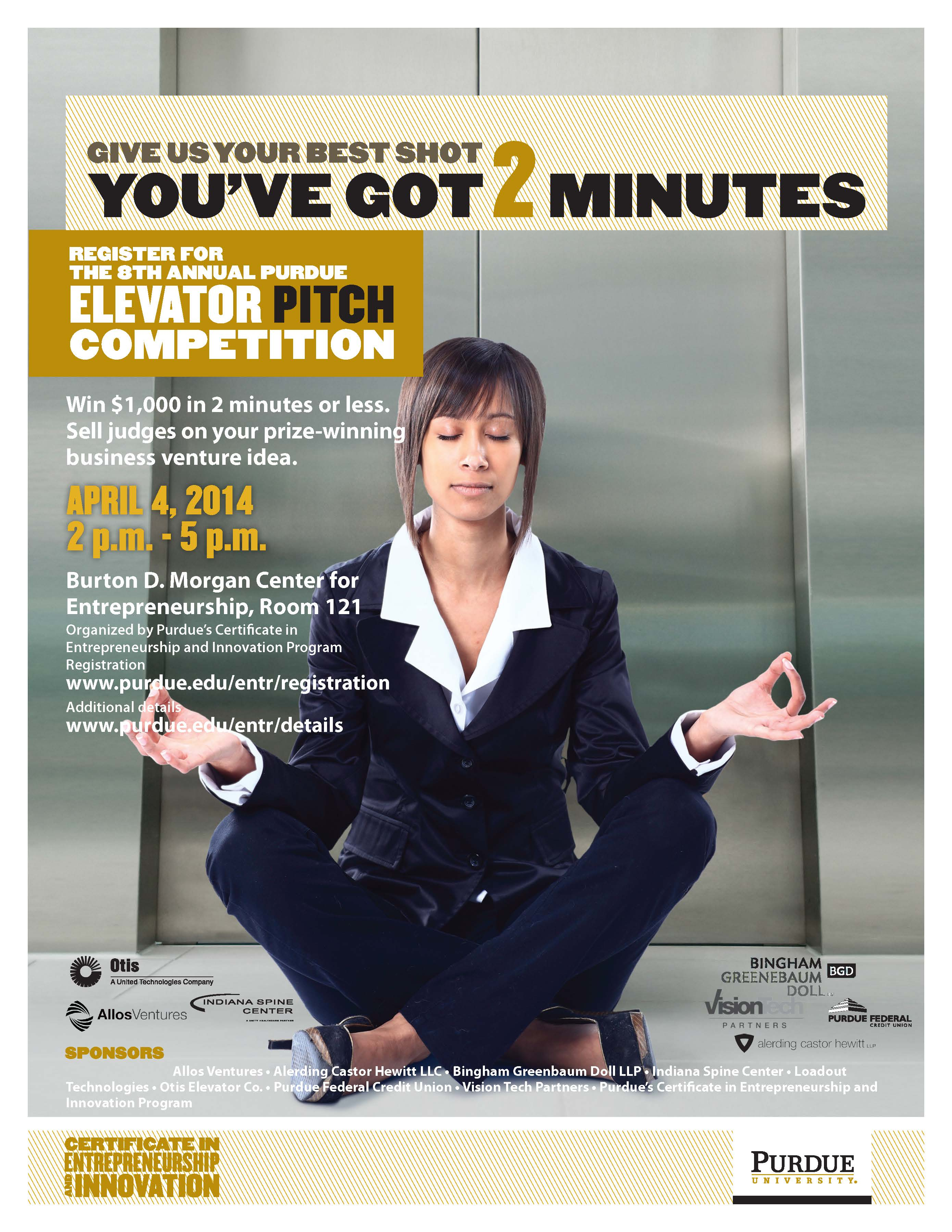 elevator pitch competition