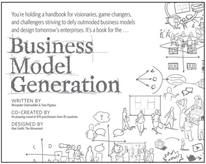 Business model generation text book