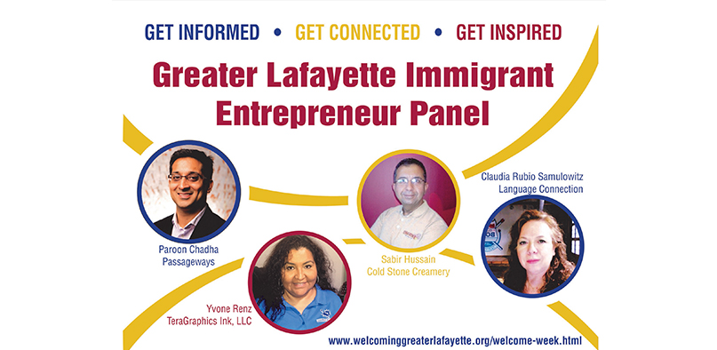 Greater Lafayette Immigrant Entrepreneur Panel
