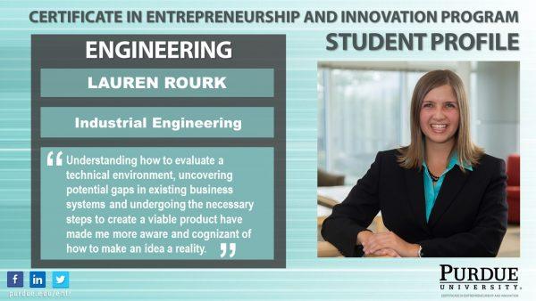 ENTR Student - Lauren Rourk