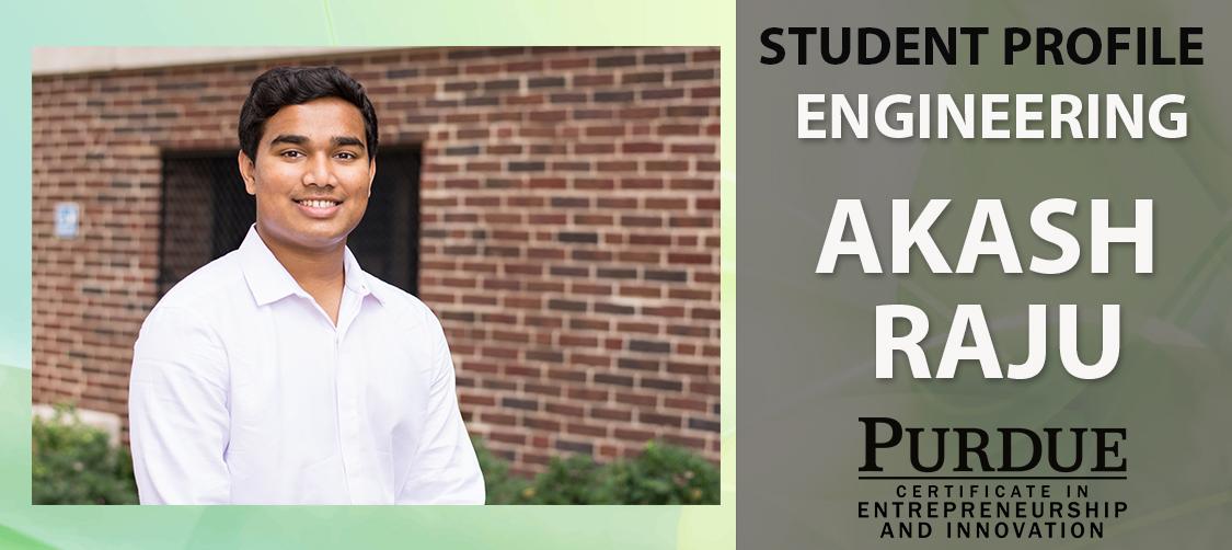 Akash Raju Student Profile