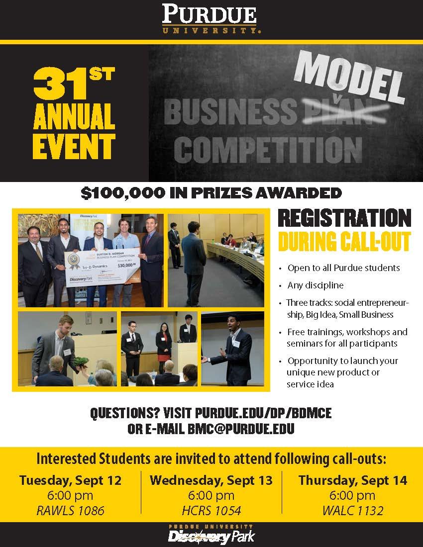 Burton D. Morgan Business Model Competition