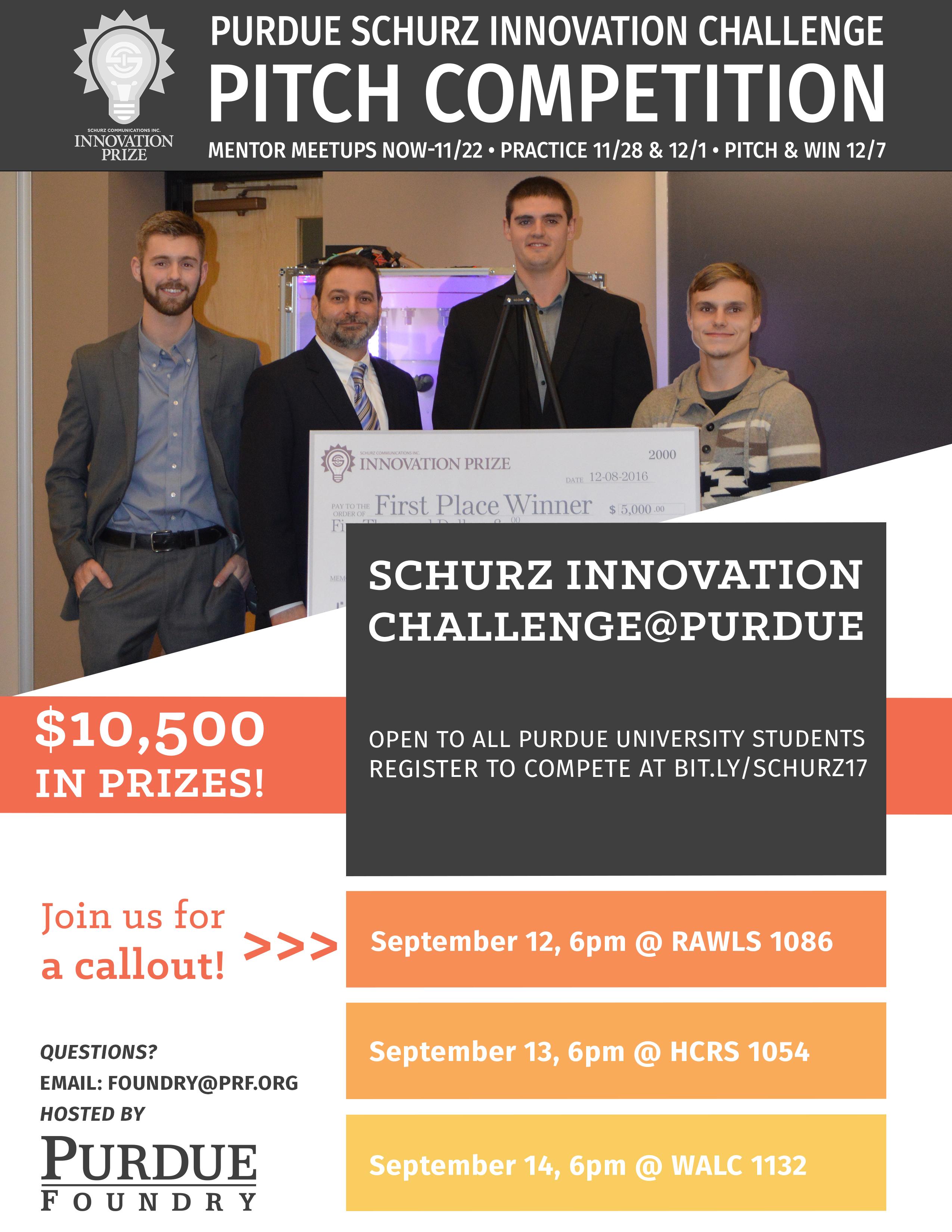 Purdue Shurz Innovation Challenge