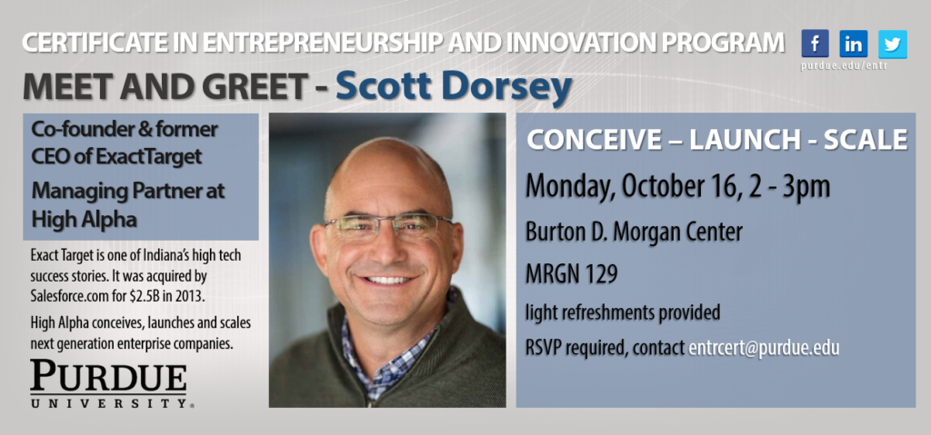 meet and greet - scott dorsey