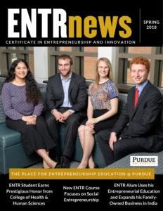ENTR Spring 2018 Newsletter