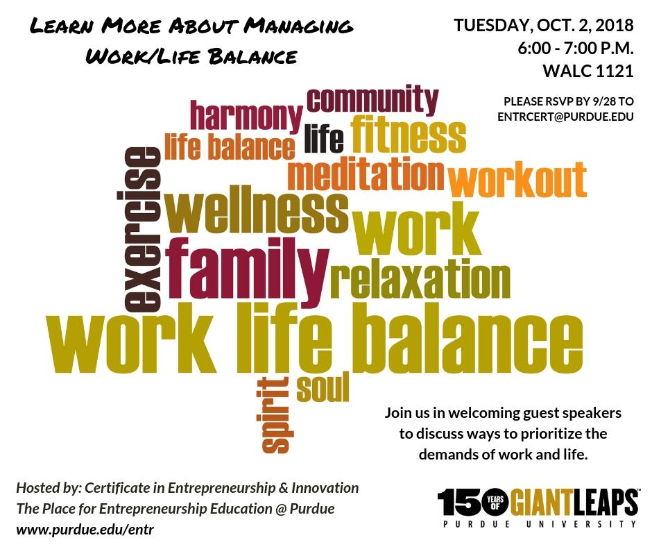 Work/Life Balance Panel